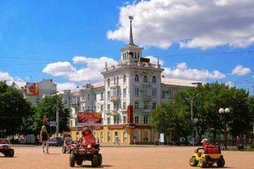 Из Крыма в Луганск на автобусе